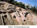 "Accessible Ancient town of ""Kition"""